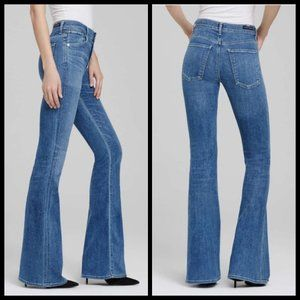 COH Fleetwood High Rise Flare Jeans ~ Solaris